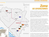 Tropas españolas en Bosnia